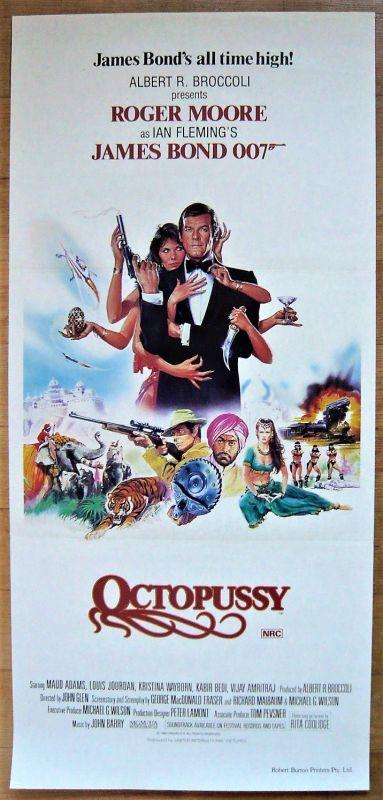 画像1: 007/オクトパシー オーストラリア版オリジナルポスター
