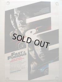 ワイルド・スピード MAX US版オリジナルポスター(3)