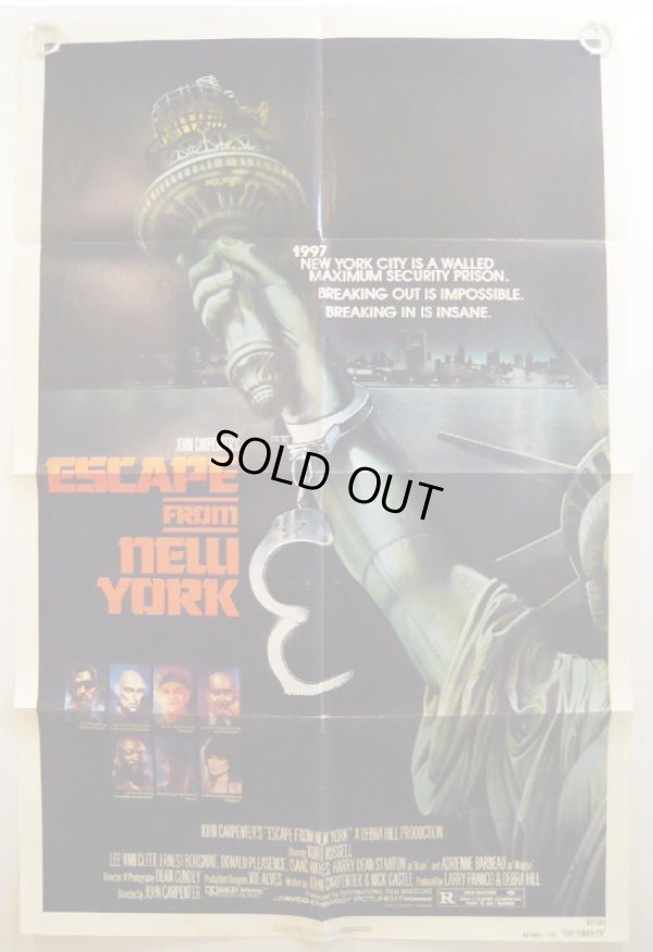 画像1: ニューヨーク1997 US版オリジナルポスター