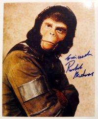 ロディ・マクドウォール(猿の惑星)直筆サイン入りUS版オリジナルスチール写真
