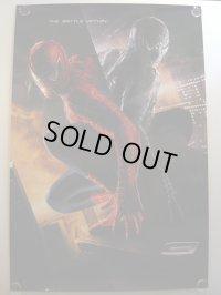 スパイダーマン3 US版オリジナルポスター