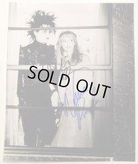 ジョニー・デップ&ウィノナ・ライダー(シザーハンズ)直筆サイン入りUS版オリジナルスチール写真