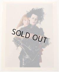 ジョニー・デップ&ウィノナ・ライダー(シザーハンズ)US版オリジナルスチール写真