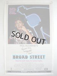 ヤァ!ブロード・ストリート US版オリジナルポスター