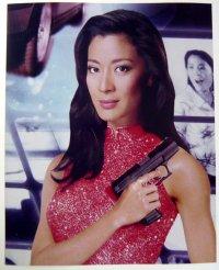 ミシェール・ヨー (007/トゥモロー・ネバー・ダイ)US版オリジナルスチール写真