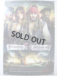パイレーツ・オブ・カリビアン 命の泉 US版オリジナルポスター