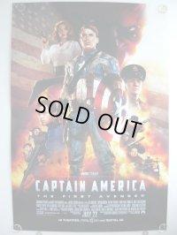 キャプテン・アメリカ ザ・ファースト・アベンジャー US版オリジナルポスターREG