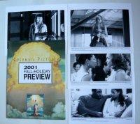 コロンビアピクチャーズ2001ホリデイシーズン US版オリジナルプレスキット