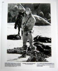 アーノルド・シュワルツェネッガー(キング・オブ・デストロイヤー) US版オリジナルプレス写真