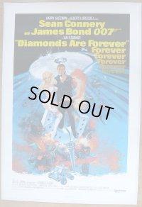 007/ダイヤモンドは永遠に US版オリジナルポスター