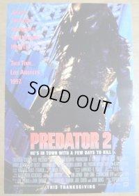 プレデター2 US版オリジナルポスター