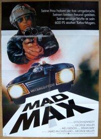 マッドマックス ドイツ版オリジナルポスター