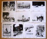史上最大の作戦  国内版キャビネ写真セット
