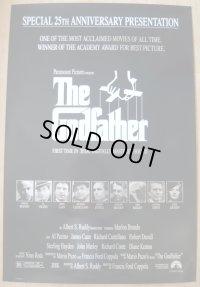 ゴッドファーザー25周年 US版オリジナルポスター