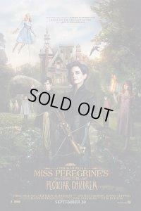 ミス・ペレグリンと奇妙なこどもたち US版オリジナルポスター