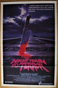 悪夢の銀河鉄道/ナイト・トレイン・トゥ・テラー US版オリジナルポスター