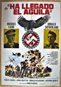 鷲は舞いおりた スペイン版オリジナルポスター