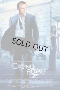007/カジノ・ロワイアル US版オリジナルポスター