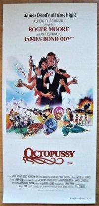 007/オクトパシー オーストラリア版オリジナルポスター