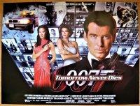 007/トゥモロー・ネバー・ダイ UK版オリジナルポスター
