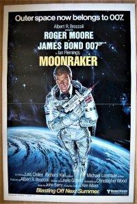 007/ムーンレイカー US版オリジナルポスター