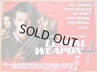 リーサル・ウェポン4 UK版オリジナルポスター