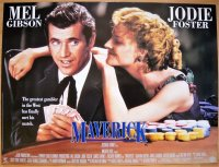 マーヴェリック  UK版オリジナルポスター