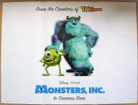 モンスターズ・インク UK版オリジナルポスター