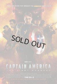 キャプテン・アメリカ ザ・ファースト・アベンジャー US版オリジナルポスター