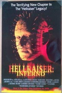 ヘルレイザー/ゲート・オブ・インフェルノ US版ビデオプロモポスター