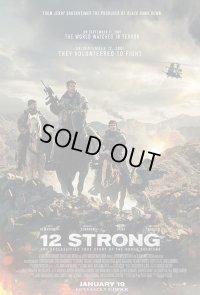 12STRONG/ホース・ソルジャー US版オリジナルポスター