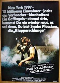 ニューヨーク1997 ドイツ版オリジナルポスター