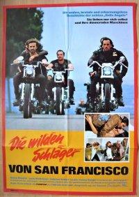 爆走!ヘルズ・エンジェルス ドイツ版オリジナルポスター
