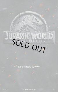 ジュラシック・ワールド/炎の王国 US版オリジナルポスター