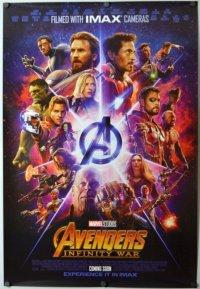 アベンジャーズ/インフィニティ・ウォー US版オリジナルポスター