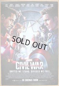 シビル・ウォー/キャプテン・アメリカ US版オリジナルポスター
