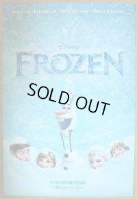 アナと雪の女王 US版オリジナルポスター
