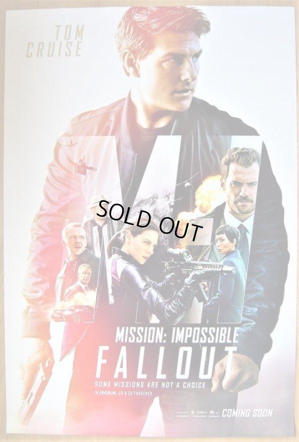 画像1: ミッション:インポッシブル/フォールアウト US版オリジナルポスター