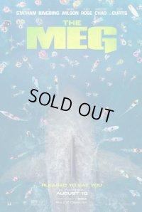 MEG ザ・モンスター US版オリジナルポスター