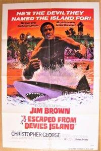 脱出!処刑の島 US版オリジナルポスター