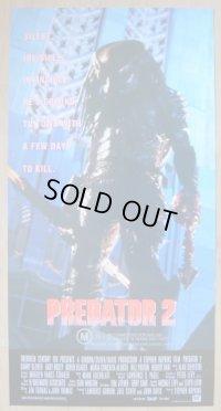 プレデター2 オーストラリア版オリジナルポスター