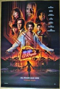 Bad Times at the El Royale US版オリジナルポスター