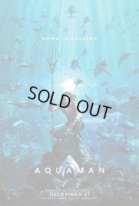 アクアマン US版オリジナルポスター