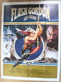 フラッシュ・ゴードン フランス版オリジナルポスター