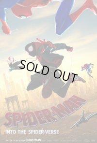スパイダーマン:スパイダーバース US版オリジナルポスター