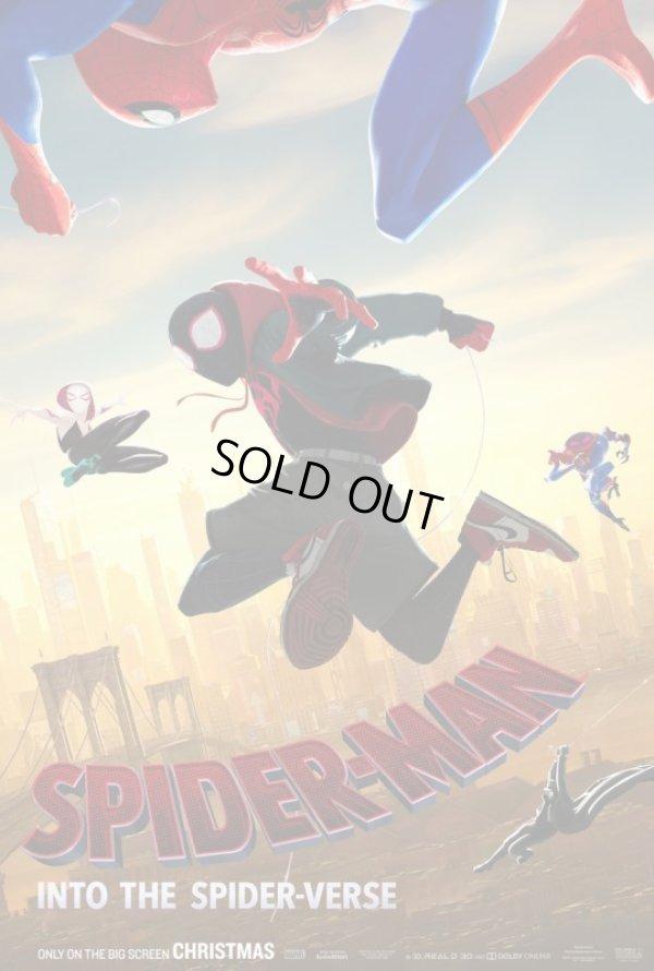 画像1: スパイダーマン:スパイダーバース US版オリジナルポスター