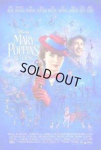 メリー・ポピンズ・リターンズ US版オリジナルポスター