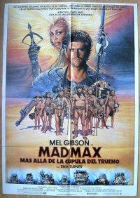 マッドマックス/サンダードーム スペイン版オリジナルポスター