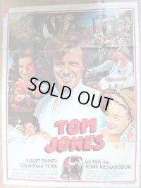 トム・ジョーンズの華麗な冒険 フランス版オリジナルポスター