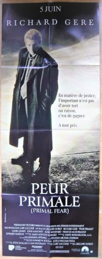 真実の行方 フランス版オリジナルポスター